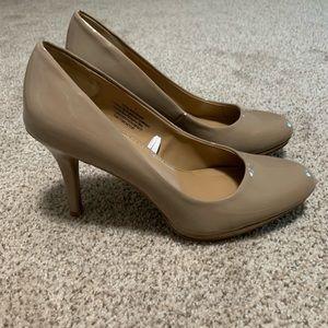 Merona Nude Round Toe Heels
